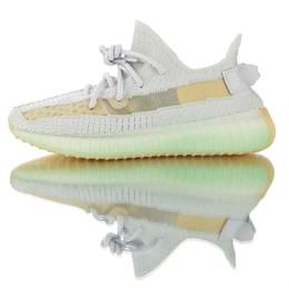 2019 adidas B0OST 35o V2 Trainer Designer scarpe da tennis Nuovo True Form argilla Hyperspace statici Glow migliori Kanye West degli uomini di qualità pattini correnti delle donne da