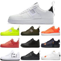 Nike Air Force 1 Forces Shoes Freizeitschuhe Triple Schwarz Weiß Weizenrosa Oliv Volt Designer Schuhe Skateboarding Damen Herren Trainer Sport