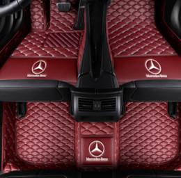 2019 modelos de chispa Aplicable a la alfombra antideslizante para automóviles Mercedes-Benz GL-Class 2008-2016 alfombra interior alfombra antirresbaladiza tapete de cuero estera no tóxica