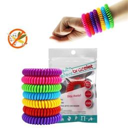Canada EVA élastique anti-moustiques Bracelet anti-moustiques pure bande de poignet naturel pour adultes et enfants Bracelet de contrôle des parasites cheap eva Offre