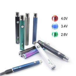 Evod plus on-line-Dr.Cann Evod Ego Plus VV 320 mah Vape Pen Pré-aquecimento de tensão Variável 510 Bateria Micro USB Carregador Eletrônico Cigrette