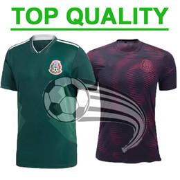 Maillot de football mexicain Gold Cup 2019 Camisetas 19/20 HOMME ENFANTS 2018 CHICHARITO LOZANO DOS SANTOS maillot de foot fille camisa de futbol ? partir de fabricateur