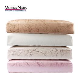 almofada de almofada de braço Desconto Monika PU Mão De Couro Resto para Unhas Almofada Prego Travesseiro Titular Mão Braço Resto Manicure Nail Art Acessórios Ferramenta
