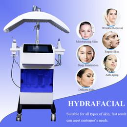 Canada Aqua Peel Hydro Machine faciale Machine à oxygène de traitement de lifting de visage de microdermabrasion de diamant de rajeunissement de peau d'ultrason supplier treatment diamond peel Offre