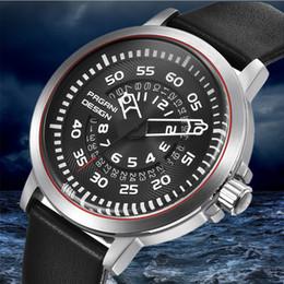 d92ea753ad6e PAGANI DISEÑO Top de lujo para hombre Relojes Cuarzo de cuero a prueba de  agua Diseño único Hollow Calendario Reloj de hombre Relogio masculino Saat