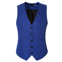 breast vest Promo Codes - 2019 New And Fine Cool Single Breasted Vests British Style Suitable For Men Wedding   Dance   Dinner Best Men Vest Large-Size Men Jacket