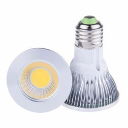 7 W LED COB Ampul Işık Par20 E27 soket 110 V 220 V Sıcak / Soğuk Beyaz LED Tavan Spotlight Lamba Üniforma aydınlatma, Parlak ve yumuşak nereden
