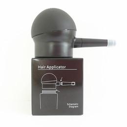 Siyah Saç Sprey Apllicator ABS malzeme Yardım Sprey Saç Elyaf Kolayca Fabrika Doğrudan Satış Saç Aksesuarı nereden saç dökülmesi inceltme işlemi tedarikçiler