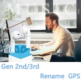 chip de H1 AP2 AP3 Pro fones Rename GPS tws fones Top Qualidade de Som Com Smart Sensor PK w1 chip de i18 i12 i500 i200 de Fornecedores de pedaço de ouvido bluetooth