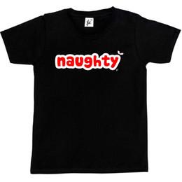 Lista de crianças on-line-Impertinente No Natal Na Lista Impertinente do Papai Noel Crianças Meninos / Meninas T-Shirt com capuz hip hop t-shirt jaqueta de couro croatia tshirt