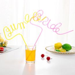 Canudos de arte on-line-Palha de palha de arte de Noiva Engraçado Carta Palhas presente de Casamento decorações do partido decorações de arte bebida palha KKA7289