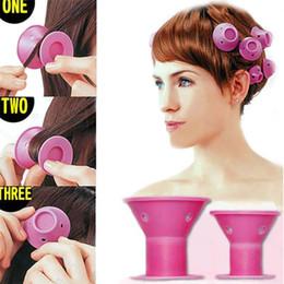 Penteado macio cuidados com os cabelos diy rolo peco estilo de cabelo salão de rolador de rolos 10 pçs / lote acessórios bestselling e nova moda de Fornecedores de coroa de quartzo