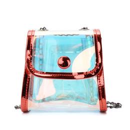 Einfache niedliche handtaschen online-Neue Kinderhandtaschen Mode Umhängetasche Einfache Laserkette Tasche Flut Jungen und Mädchen Mini Umhängetasche Kinder Mädchen Nette Weihnachtsgeschenke