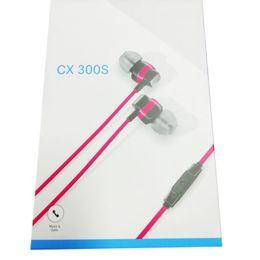 беспроволочные микрофоны Скидка Новый бренд CX300S проводные наушники 3 цвета 5.0 Звук 3D стерео наушники наушники с микрофоном свободный корабль
