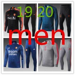 201920 Olympic Marseille Anzug Fußball Jogging Fußball Mantel Hosen Sport Trainingsanzug THAUVIN PAYET 19 20 Männer Fußball Polohemd