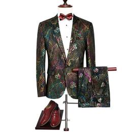 2020 smokings mais frescos Suits lindo Mens noivo terno legais Suits Homens de casamento para o partido abastecido cavalheiro casamento quente Sets Tuxedo terno (calça + jaqueta) smokings mais frescos barato