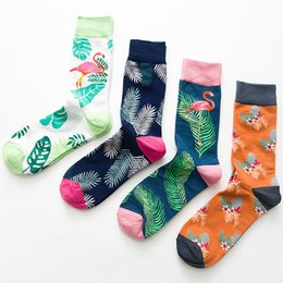 cosplacool abstract Animal Novelty Socks Men Cotton Happy Funny Socks Dress Colorful Wedding Socks Clacetines Hombre Divertidos Underwear & Sleepwears