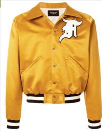 2019 модная куртка бомбардировщика женщины Fear MA1 Куртка Мужчины Женщины Высокого Качества FOG MA1 Bomber Ветровка 1987 Коллекция Мода Повседневная Fear Of God куртка дешево модная куртка бомбардировщика женщины