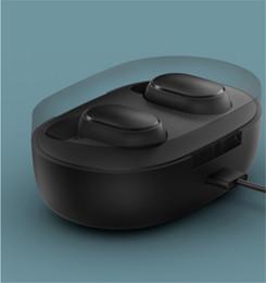 Mi xiaomi auricolari online-Originale Xiaomi redmi AirDots TWS auricolare Bluetooth stereo MI AirDots senza fili Bluetooth 5.0 auricolare Touch Control Mic auricolari