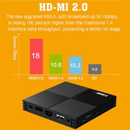 multi tv media player Promo Codes - Multi-Platform Smart TV Box T95 2GB 16GB H6 Quadcore Cortex-A53 2.4GHz WiFi Set Top Box Media Player Mini TV Receiver Play