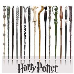 Scatola di ferri di potter harry online-41 Styles Harry Potter Wand Magic Props Hogwarts Harry Potter Series Magic Wand Harry Potter Magical Wand With Gift Box ZZA1091