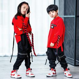e1e69cca5724 Popular Korean Style Jazz Hiphop Dance Costume Hip Hop Dance Clothes Pop Suit  Street Wear for Kids Boys Girls Women Men Children