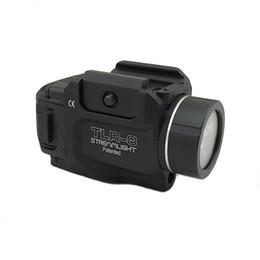 Lanterna de caça tática on-line-Tactical TLR Gun Luz TLR-8 Streamlight Baixo Perfil LED Caça Lanterna com Laser Vermelho Railed Pistolas