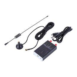 antena de cobre Rebajas 100khz-1.7ghz Full Band UV RTL-SDR USB Tuner Receiver / R820T + 8232 Ham Radio 01 # 8