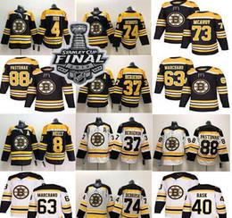 camisetas de hockey nhl montreal canadiens Rebajas Boston Bruins 4 Bobby Orr 74 Jake DeBrusk 37 Patrice Bergeron 40 Rask 63 Brad Marchand 88 David Pastrňák Jersey