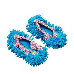25pair Dust Cleaner Pantofole per il pascolo Casa Bagno Pulizia del pavimento Mop Cleaner Slipper Scarpe pigre Copertura in microfibra Duster Cloth da