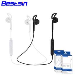 Operando celular on-line-Moda s6 sem fio bluetooth fone de ouvido fone de ouvido estéreo fone de ouvido fone de ouvido com microfone esporte ao ar livre correndo para iphone 7 7plue samsung s8