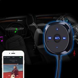 entrada aux para carro Desconto Bluetooth Car Kit Estéreo Music Receiver MP3 Player Hands-free 3.5mm Entrada Aux 2.1A USB Speakerphone Carregador de Carro