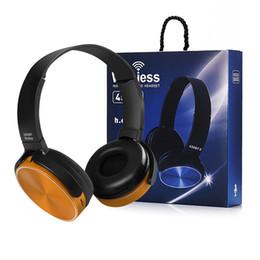 fones de ouvido retrácteis auscultadores Desconto Boa 450BT Gaming Headset Sem Fio Bluetooth Headphones Stereo Player de Música Retrátil Headband Surround Stereo Fone de Ouvido com Caixa De Varejo