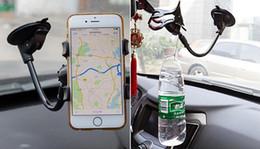 suporte de telefone para pára-brisas do carro Desconto Universal 360 graus no carro pára-brisas traço da placa suporte de montagem para iphone samsung gps pda mobile phone preto (db-024)