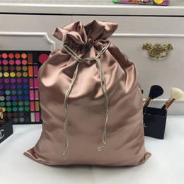 used clothes bags Promo Codes - Accessories Dustproof Storage Bag Fashion Artificial Silk Home Use Handbag Travel With Drawstring Sundries Organizer Shoes Belt