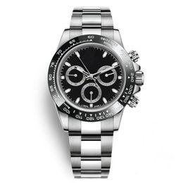bezel wholesale Promotion 2019 Noir Montres Hommes 40mm En Acier Inoxydable Lunette En Céramique Montres En Gros Auto Date Hommes Robe Montre Vente Chaude Horloges Masculines Cadeau Reloj