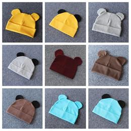 2019 pullover térmico Outono e inverno duplo chapéus térmicos para crianças crianças pulôveres universais algodão mickey ear caps para meninos e meninas T3I5171 pullover térmico barato