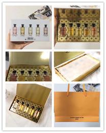 amostras grátis de garrafas de spray Desconto Qualidade superior Parfum Spray Marca Homem Perfume Amostra 7 em 1 conjunto Por Frasco 10 ml VL Fragrâncias Perfume de Longa Duração frete grátis