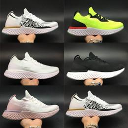 2018 Epic React Laufschuhe Weltmeisterschaft Zoom Fluoreszierende Modedesignerin Athletic Sport Sneakers Bunte Outdoor-Trainer von Fabrikanten