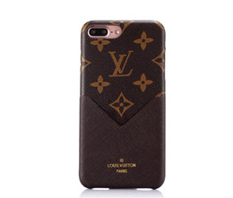 Magro monograma phone case para apple iphone xs max / xr 8/7/6 plus com suporte para cartão de volta para as mulheres meninas casos de telefone celular shell de