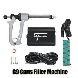 100% original GREENLIGHTVAPES G9 carros de llenado de la máquina de inyección semi automático de llenado arma por 0,5 ml 1 ml de Vape Cartucho aceite espeso Auténtico desde fabricantes