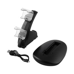 2019 serie di alimentatori Caricatore per controller Gamepad Dual USB per Sony PS4 Series Dock Game Controller Alimentazione Base di supporto per base di ricarica sconti serie di alimentatori