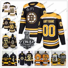 Argentina Custom Boston Bruins 2019 Stanley Cup Jersey Any Number Name hombres mujeres jóvenes niño Negro Tercer Blanco Amarillo Vintage Pastrnak Coyle Krug Orr cheap kids bruins jersey Suministro