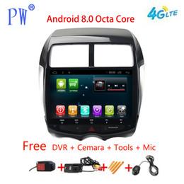 radios para mitsubishi outlander Rebajas Radio para coche GPS Android 7.1 Navi para Mitsubishi ASX RVR 2010+ Outlander Sport Autoradio Navigation Head Unit Multimedia Estéreo