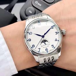 2019 мужские часы с полным автоматическим механическим механизмом из минерального упрочняющего стекла 316L корпус из нержавеющей стали стальной ремешок простой лей от