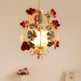 Canada Livraison Gratuite D35cm Floral Pendentif Lampe Salon Bougie Lampes luxe Moderne Enfants Chambre Suspendu Lumières AC 100% Garanti Offre