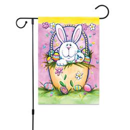Bandiere di Pasqua Casa Giardino Bandiere Zucca di Halloween Fiore Gufo Giardino Banner 30x45 cm Bandiera di Lino Bandiere Banner di Alta Qualità IN MAGAZZINO da