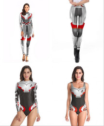Avengers Endgame Quantum Realm Kostuum Advanced Tech Costume Cosplay Iron Woman 3D Stampa Tuta intera Tuta Adulto New Avengers 4 Endgam da