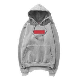 Знаменитая женская одежда бренд онлайн-Известные торговые марки Casual Mens Толстовка Толстовка Box Логотип Вышивка Мужчины Женщины Толстовки Пуловеры Дизайнерская одежда в размер S-XXL