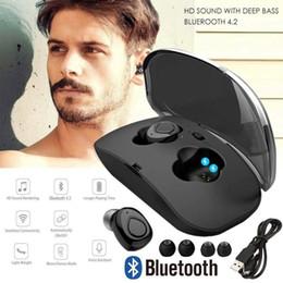 2019 bluetooth mini beweglicher kopfhörer X18S Tws Mini drahtlose Bluetooth-Kopfhörer-Kopfhörer-Ohrhörer für iPhone Samsung für Iphone 8 8 plus Samsung Xiaomi-Handys günstig bluetooth mini beweglicher kopfhörer